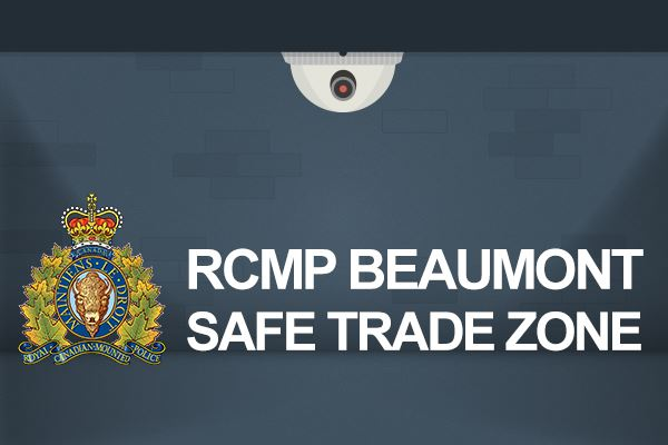 RCMP Beaumont Safe Trade Zone