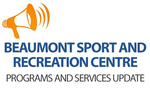 Beaumont Sports and Recreation Programs and Service Update