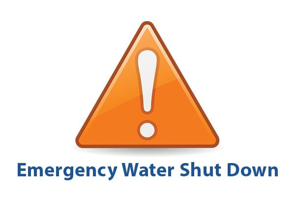 Emergency Water Shut Down