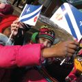 Franco-Alberta Flag Raising