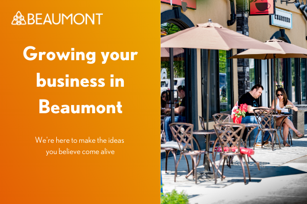 Growing your business in Beaumont Website Slider