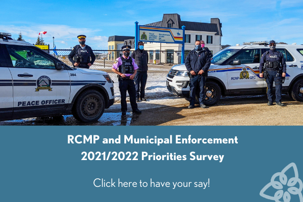 RCMP and ME 2021_2022 Priorities Survey Homepage