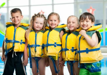 Swimming Lessons - Life Jackets 366x257