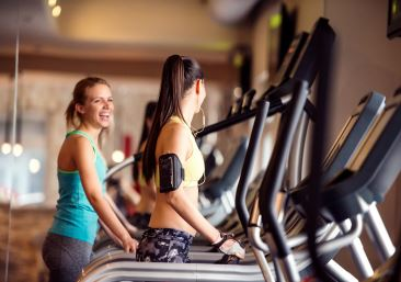 Women on Treadmills 366x257